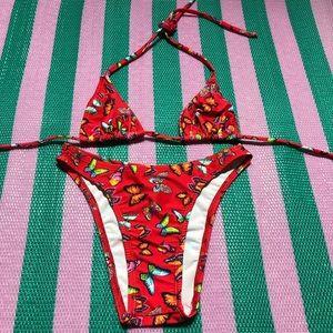 Zuliana Butterflies 🦋 🦋 sexy high waist bikini